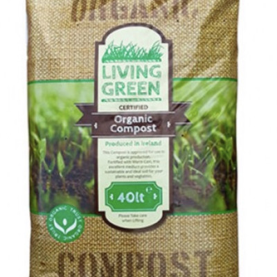 Living Green Organic Compost 40 litre